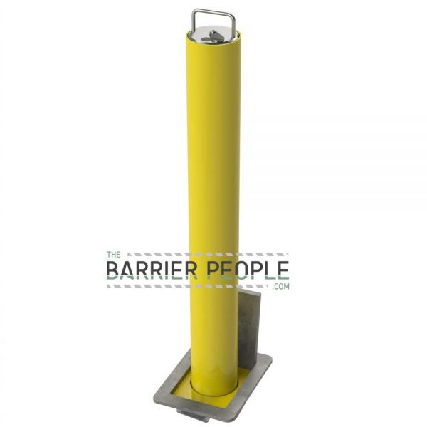 RRBD4 GPC Powder Coated Security Post