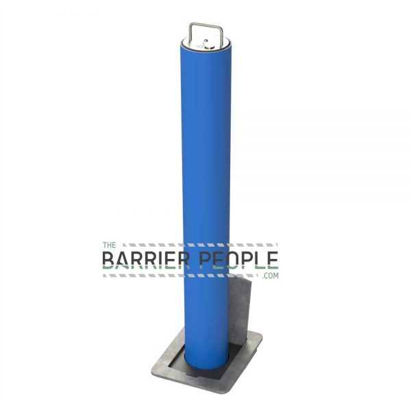 RRBD5 Powder Coated Security Post